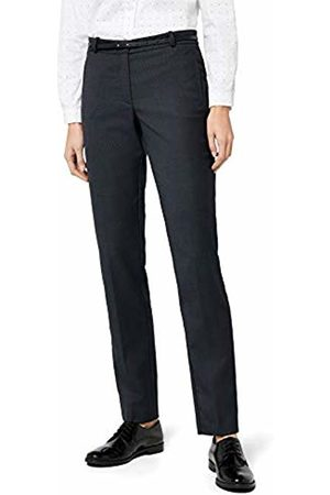 Esprit Collection Women's 996EO1B900 Trouser, (NAVY)