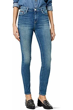 Tommy Hilfiger Women's High Rise Skinny Santana RBST (Royal Stretch 911)