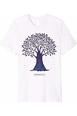 Namaste Tree Yoga Shirt Yoga Namaste Tree Pose Zen Tshirt