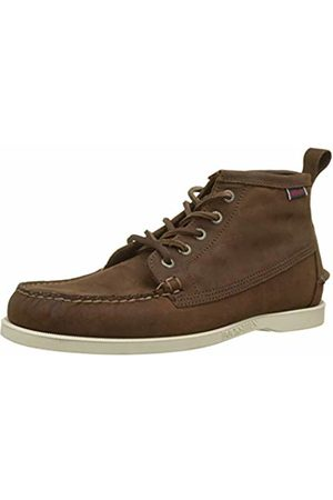 SEBAGO Men's Dockside Beacon NBK Chukka Boots, ( Taupe 910)