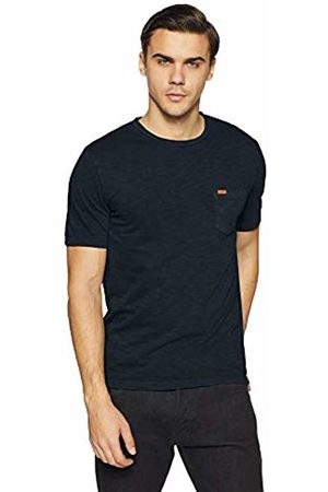 Superdry Men's Dry Originals S/s Pocket Tee Kniited Tank Top, Storm Navy Up6