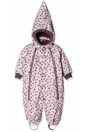 Racoon Baby Girls' Betty Heart Schneeanzug (Wassersäule 9.000) Snowsuit