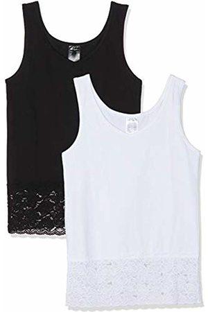 Ulla Popken Women's Unterhemd, Spitzenkante Dopa T-Shirt