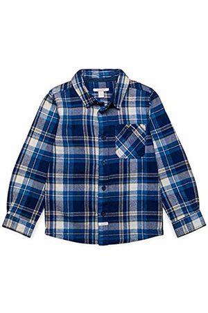 Esprit Kids Boy's Woven Shirt Blouse, (Dark Ocean 482)