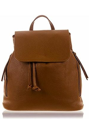 Firenze Artegiani Women's Casual Genuine Leather Dollaro Finish Shoulder Bag