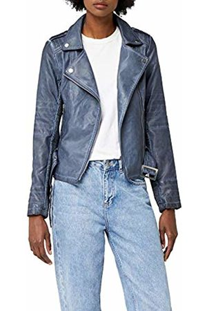 Morgan Women's Gono Jacket, (Bleu Jean)