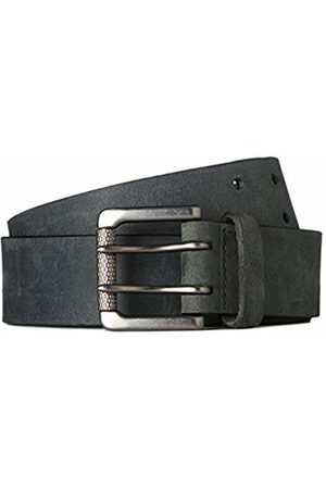 FIND Men's Belt in Distressed Leather and Double Fastener