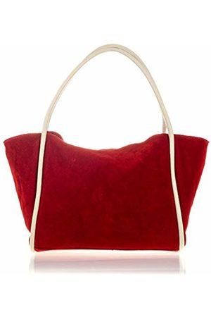 Firenze Artegiani Women's Genuine Leather Chamois Handbag