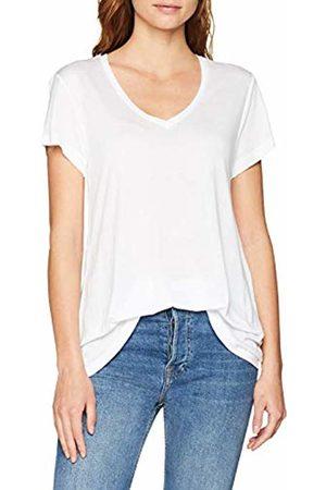 Kaffe Women's Anna V-Neck T-Shirt (Optical 50001)