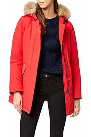 Canadian Classics Women's Down Jacket Raincoat Rot (Bright BRRE) 10