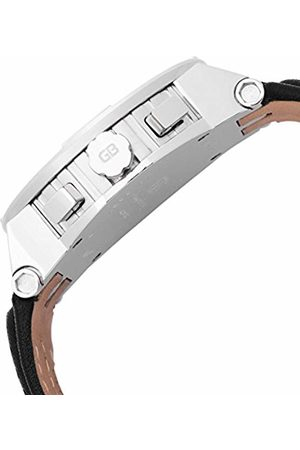 Grafenberg Men's Quartz Watch with Dial Analogue Display and Leather Bracelet GB202-182