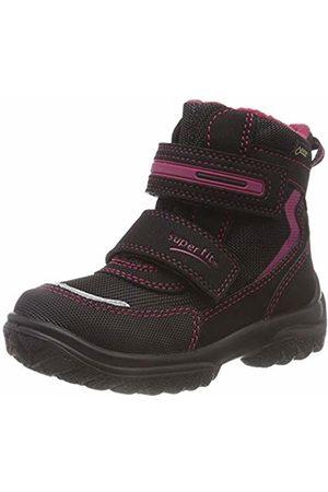 Superfit Girls' Snowcat Snow Boots, (Schwarz/Rot 02)