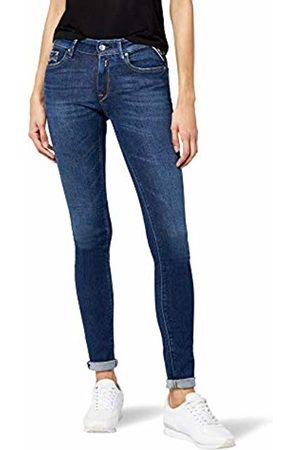 Replay Women Skinny - Women's Luz Skinny Jeans, (Mid Denim 9)