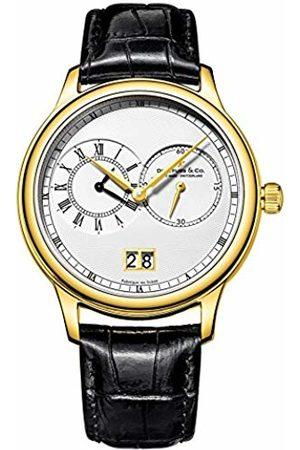Dreyfuss Mens Chronograph Quartz Watch with Leather Strap DGS00121/06
