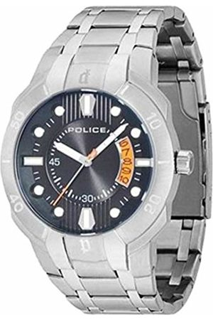 Police Men's Quartz Watch with Dial Analogue Display and Stainless Steel Bracelet 13615JS/02M