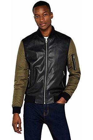FIND Nylon Sleeve Bomber Jacket, /Khaki