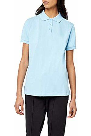 Intimuse Women's Polo Shirt Plain, (hellblau)