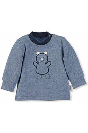 Sterntaler Baby Boys Longsleeve T-Shirt, ( Jeans Melange)