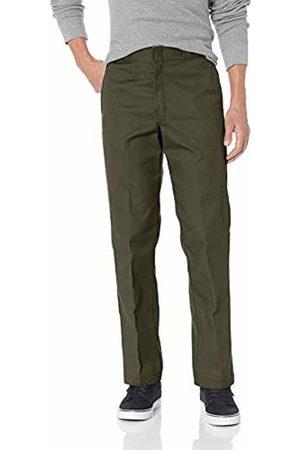 Dickies Men's Original 874 Work Pant Workwear Trousers, (Olive )