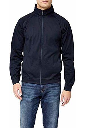 Trigema Men's 637105 Varsity Long Sleeve Cardigan - - XX-Large