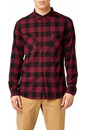 Urban classics S Men Checked flannel shirt - - Medium
