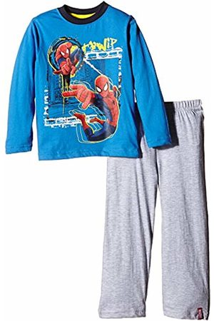 Marvel Boy's Spiderman Go Spidey Long Sleeve Pyjama Set