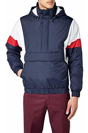 Urban classics Men's 3 Tone Pull Over Jacket