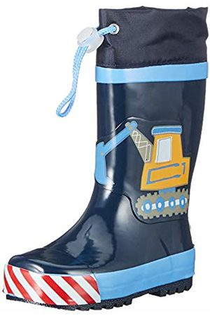 Playshoes GmbH Unisex Kids' Boys Rubber Boots Building Site Water Shoes