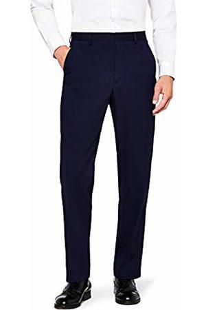 Hem & Seam Men's Stretch Regular Fit Suit Trousers