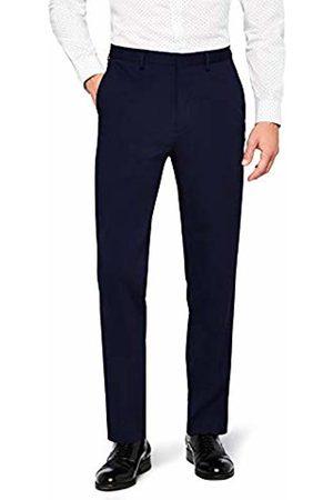 Hem & Seam Men's Stretch Slim Fit Suit Trousers