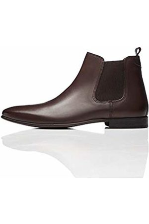 FIND Leather Smart Chelsea Boots