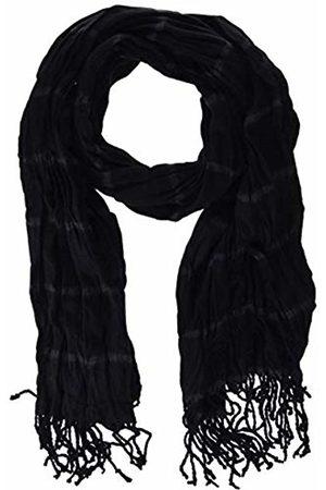Antony Morato Men's Jacquard Frange Scarf, (Nero 9000)