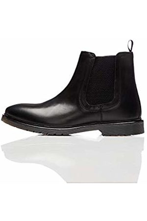 FIND Leather Cleated Chelsea Boots