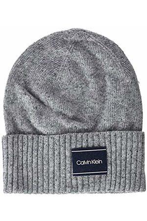 Calvin Klein Men's Neps Beanie (Mid Heather B38-Vol39 013)