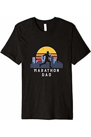 Marathon Runner Family Tees Marathon Shirt Runner Dad Vintage Design Gift