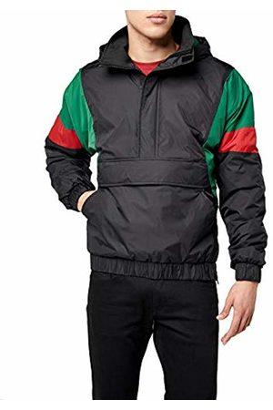 Urban classics Men's 3 Tone Pull Over Jacket