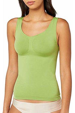 BELLY CLOUD Women's Model Shapewear Top, -Grün (pistazien 785)