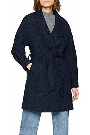 Selected Femme Women's Slfpaja Wool Coat B, Dark Sapphire