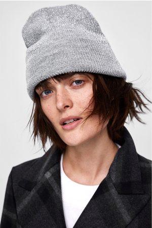 Zara METALLIC THREAD BEANIE