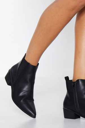 NASTY GAL Womens Get a Move On Chelsea Boot - - 3