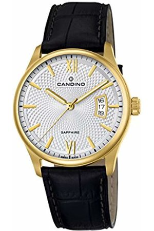 Candino Mens Analogue Classic Quartz Watch with Leather Strap C4693/1