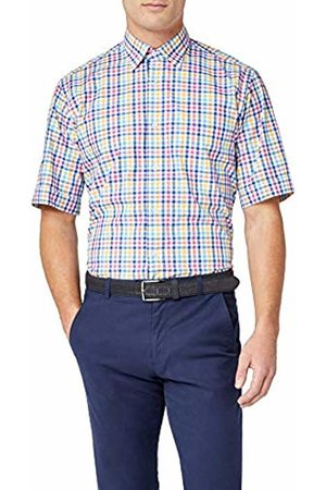 BLUEBLACK Men's Formal Shirt ( , Gelb