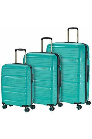 """Elite Models' Fashion Leichter, robuster und beweglicher 4-Rollen-Reisekoffer Trolley """"Motion"""" mit Hartschalen in 4 Farben Luggage Set, 77 cm"""