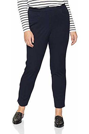 Simply Be Women's Everyday Meghan Cigarette Trouser, (Navy)