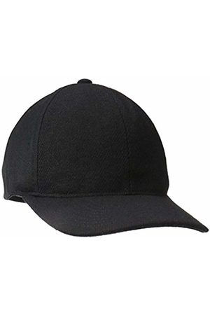 Kangol Textured Wool Baseball Cap, ( Bk)