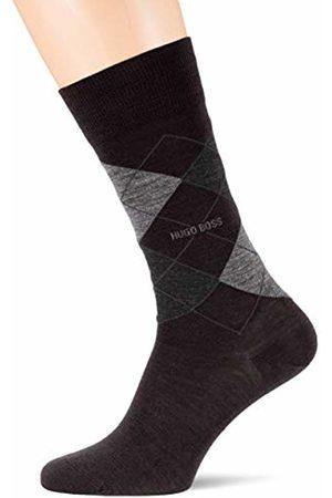 HUGO BOSS Men's John Rs Argyle Wo Calf Socks, ( 001)