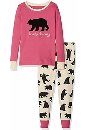Hatley Little Blue House by Girl's Kids Pj Set (App) - Bearly Sleeping Pyjama