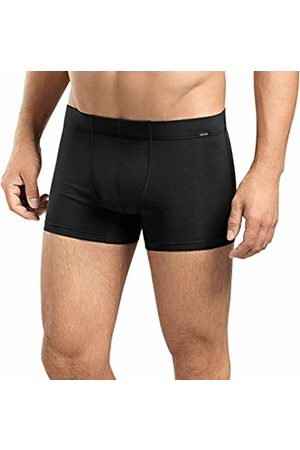 Hanro Men's Cotton Essentials 2 Pack Boxer Brief with Covered Waistband