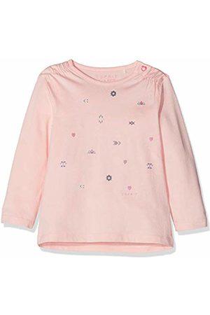 Esprit Kids Baby Girls' T-Shirt Ls Long Sleeve Top, (Pastel 312)