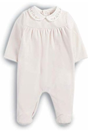 090b48508 Mamas & Papas Mamas and Papas Baby Girls' Embroidered Collar All in One  Footies,